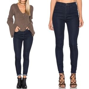 Free People High Rise Skinny Jeans 28 NWT $68